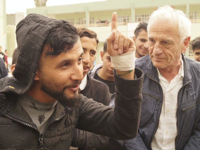 Campagnebeeld Mosul Filmschool