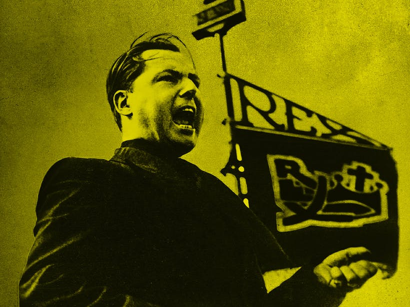 Yellow Rex Leon Degrelle Crop